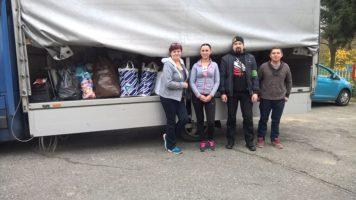 Katowice: Akcja charytatywna — zbiórka odzieży