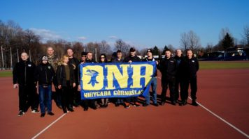 Bielsko-Biała: Musztra przed zbliżającą się rocznicą ONR-u