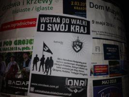 Bielsko-Biała: Akcja rekrutacyjna – plakatowanie