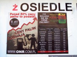 Bielsko – Biała przeciwko podwyżkom cen paliw!