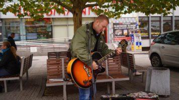 Częstochowa: Street Granie – Tomasz Kuś