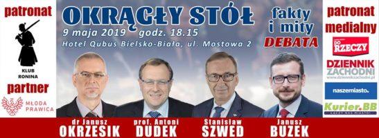 Bielsko-Biała: Debata: Okrągły Stół – fakty i mity