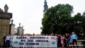 Częstochowa: Dewianci zatrzymani – Jasna Góra obroniona! [Fotorelacja]