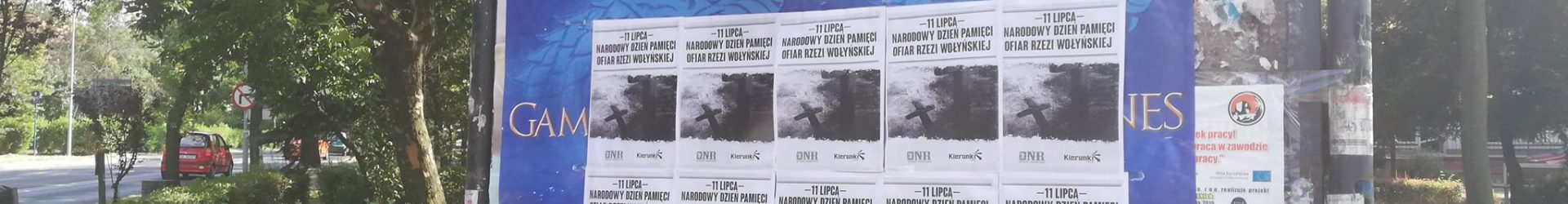 Katowice: Narodowy Dzień Pamięci Ofiar Rzezi Wołyńskiej