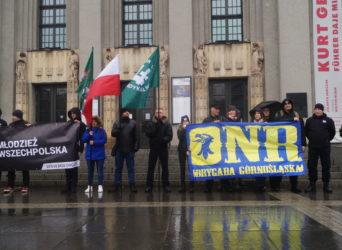 Katowice: Nacjonaliści w obronie środowiska oraz polskiego górnictwa