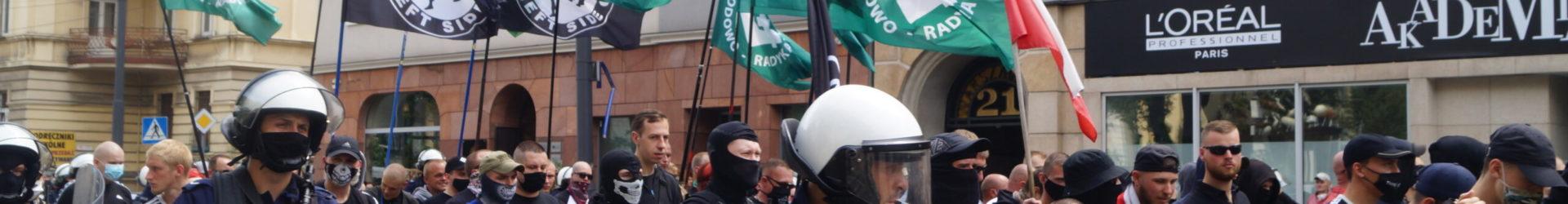 """""""Katowice miastem nacjonalizmu"""" – Marsz w Katowicach"""