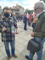 Bielsko – Biała: Akcja ulotkowa