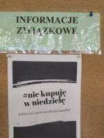 Bielsko – Biała: W obronie pracowników handlu