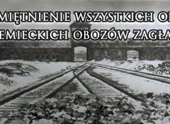 Rocznica oswobodzenia więźniów niemieckiego obozu zagłady KL Auschwitz Birkenau
